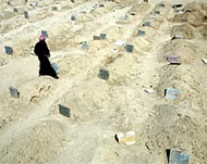 Soccer Stadium Turned into a Mass Grave in Fallujah
